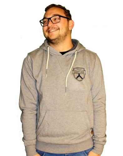 Alszusce Hoody, men, grey