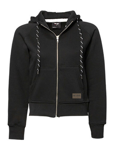 "Zip Hoodie ""Fashion"", black"