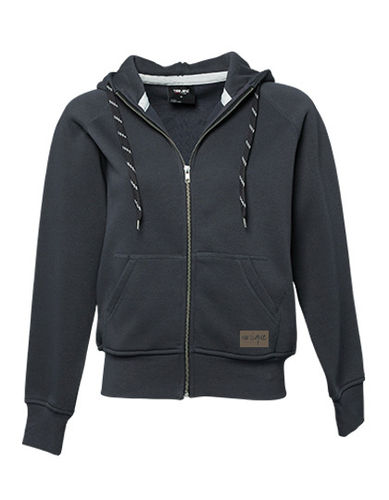 "Zip Hoodie ""Fashion"", dark grey"