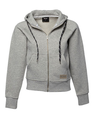 "Zip Hoodie ""Fashion"", heather grey"