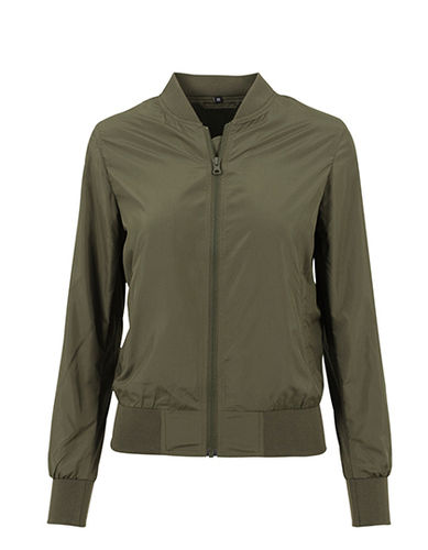 Unique Bomberjacke, olive