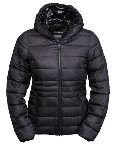 Unique Winterjacke, black