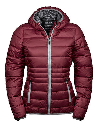 Unique Winterjacke, raspberry