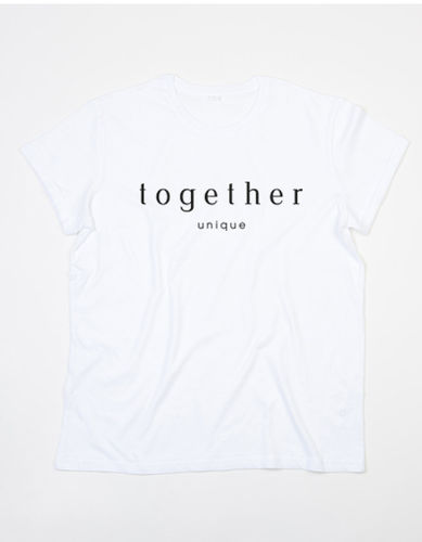 "Shirt ""together"", white"