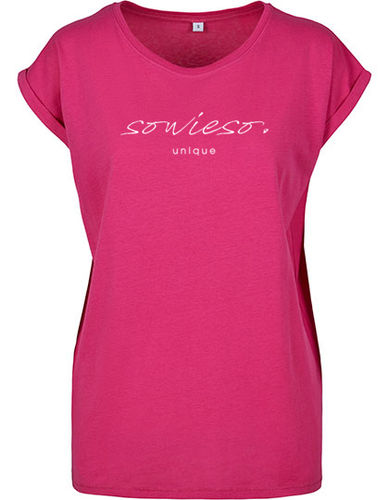 "Shirt ""sowieso"", pink"