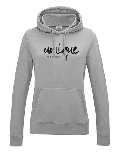 "Hoodie ""Basic"", heather-grey"