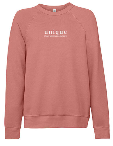 "Sweater ""oversize"", mauve"